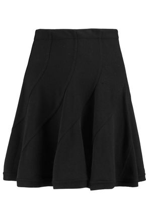 IRO Wool-blend piqué mini skirt