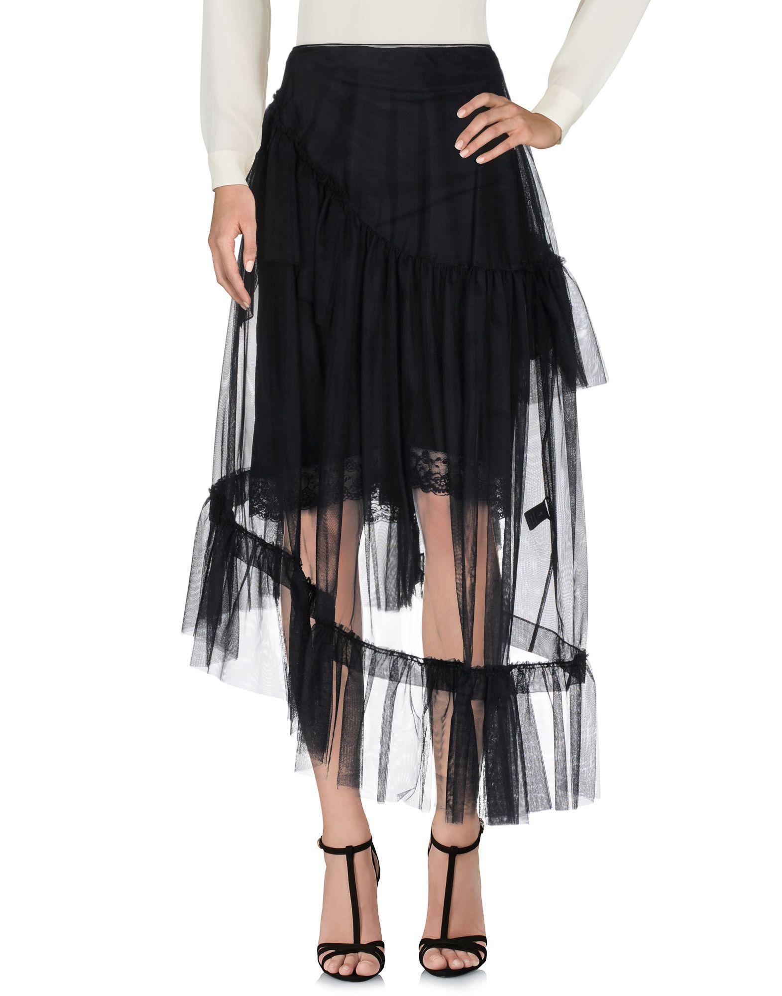 SIMONE ROCHA Длинная юбка юбка длинная из крепона