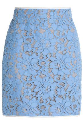 MSGM Corded lace mini skirt