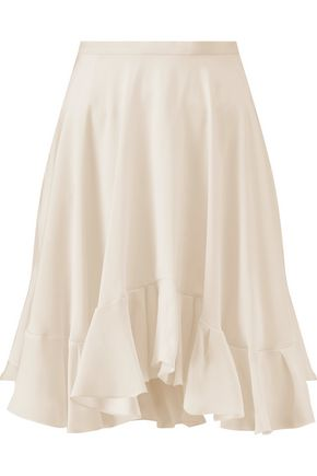 CHLOÉ Silk crepe de chine mini skirt