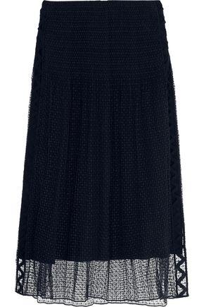CHLOÉ Guipure lace midi skirt