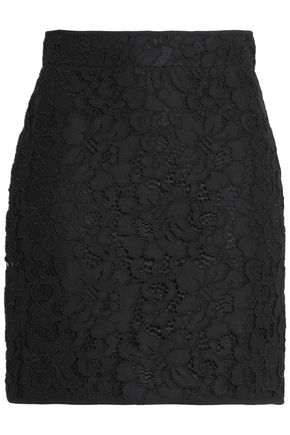 MSGM Corded lace mini skirt