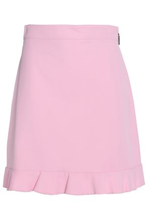 MSGM Cotton-blend mini skirt