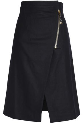 ACNE STUDIOS Split-front skirt