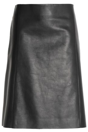 JIL SANDER Leather skirt