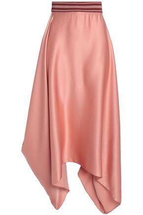ROKSANDA Asymmetric silk midi skirt
