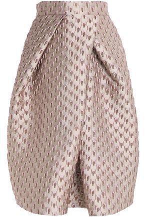 SAFIYAA Jacquard wool-blend skirt