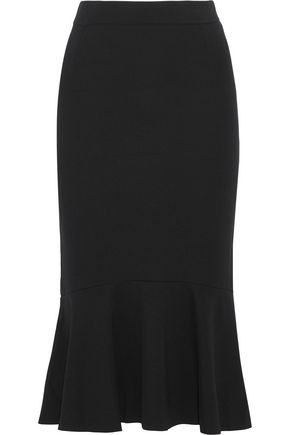 IRIS & INK Eva fluted jersey skirt