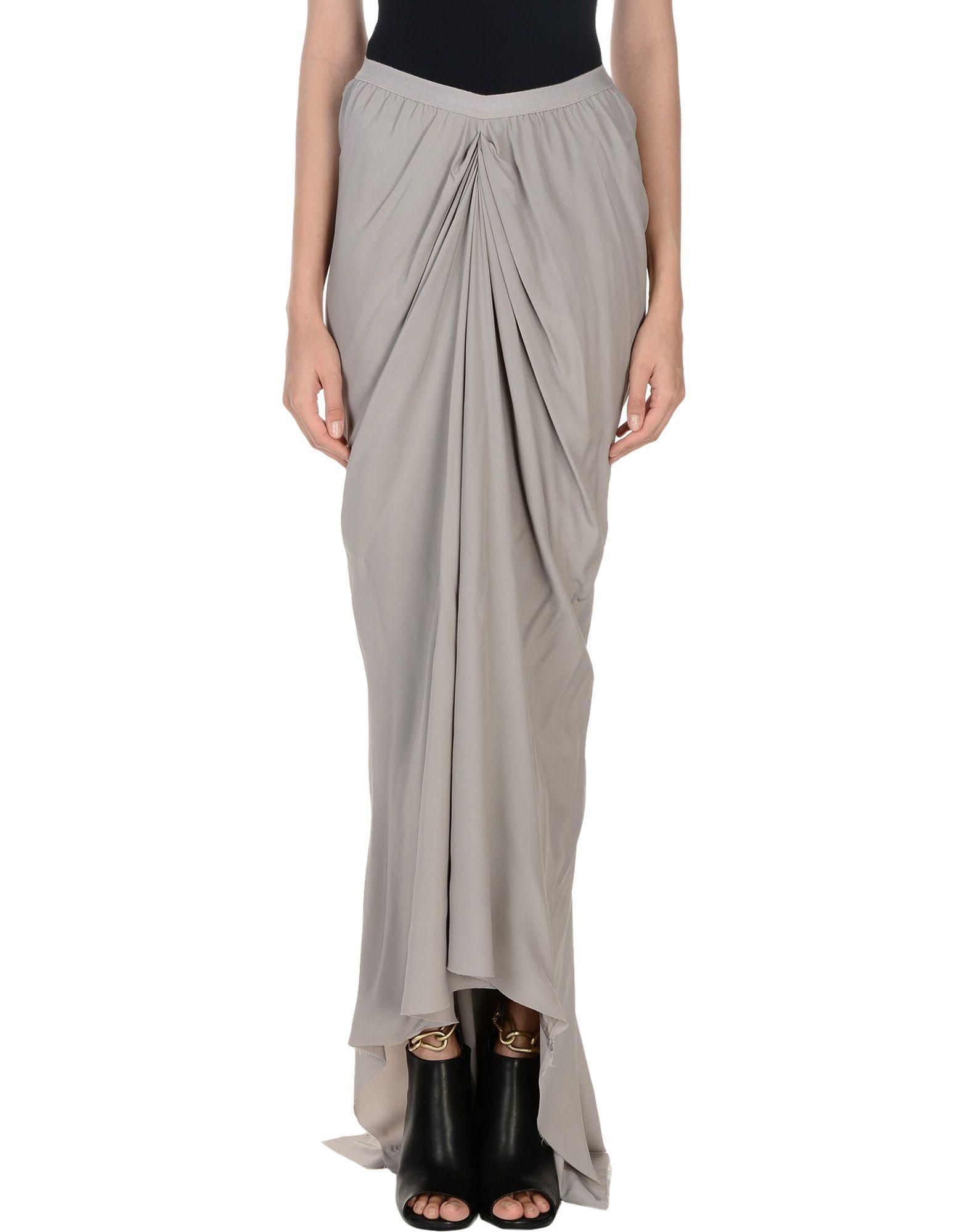 RICK OWENS Длинная юбка simclan® длинная юбка