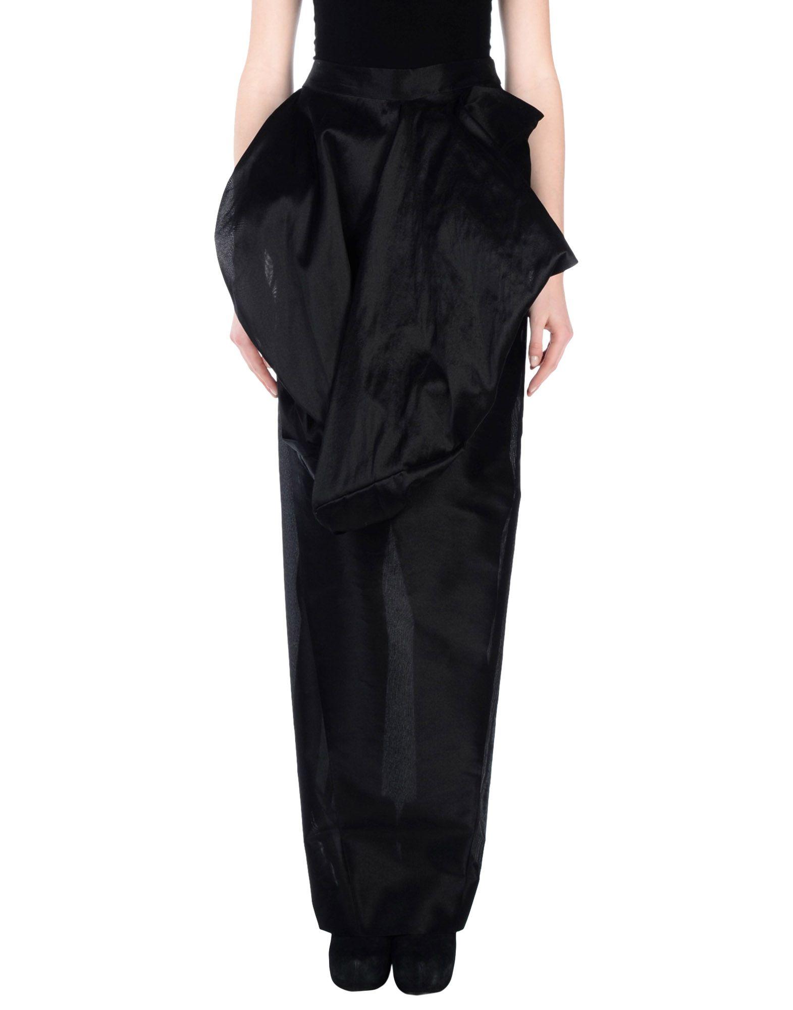 RICK OWENS Длинная юбка rick owens длинная юбка