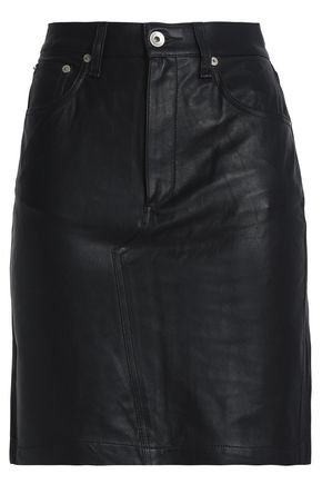 RAG & BONE/JEAN Leather mini skirt