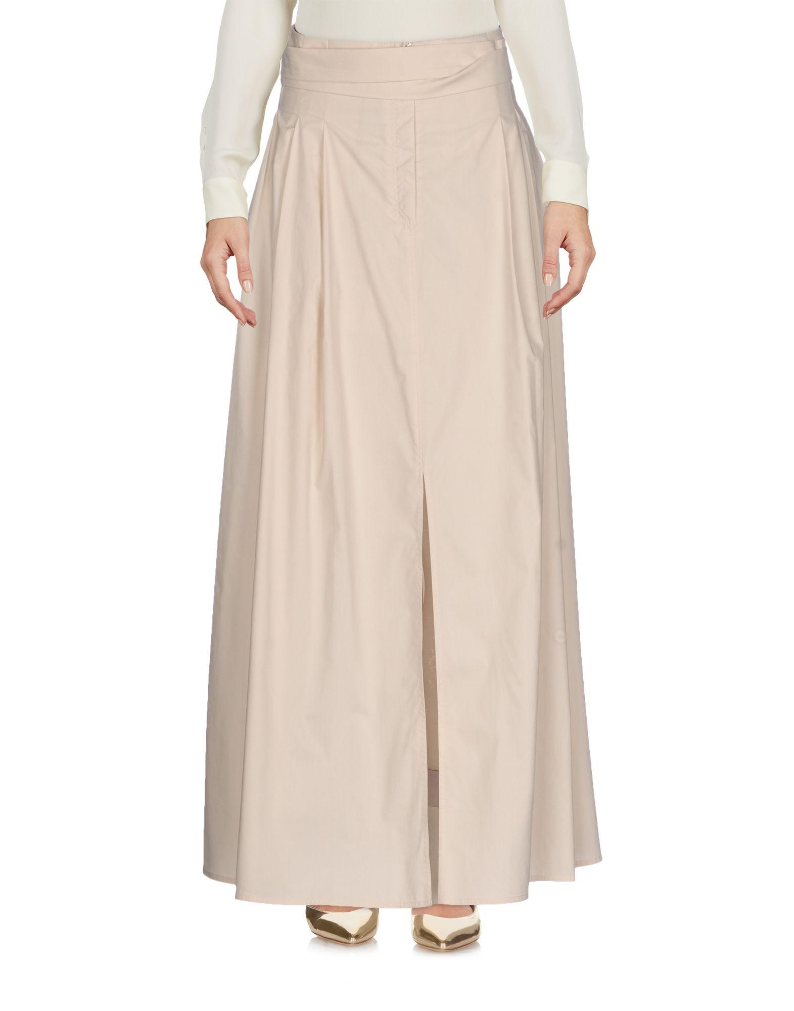GENTRYPORTOFINO Длинная юбка scaglione city длинная юбка