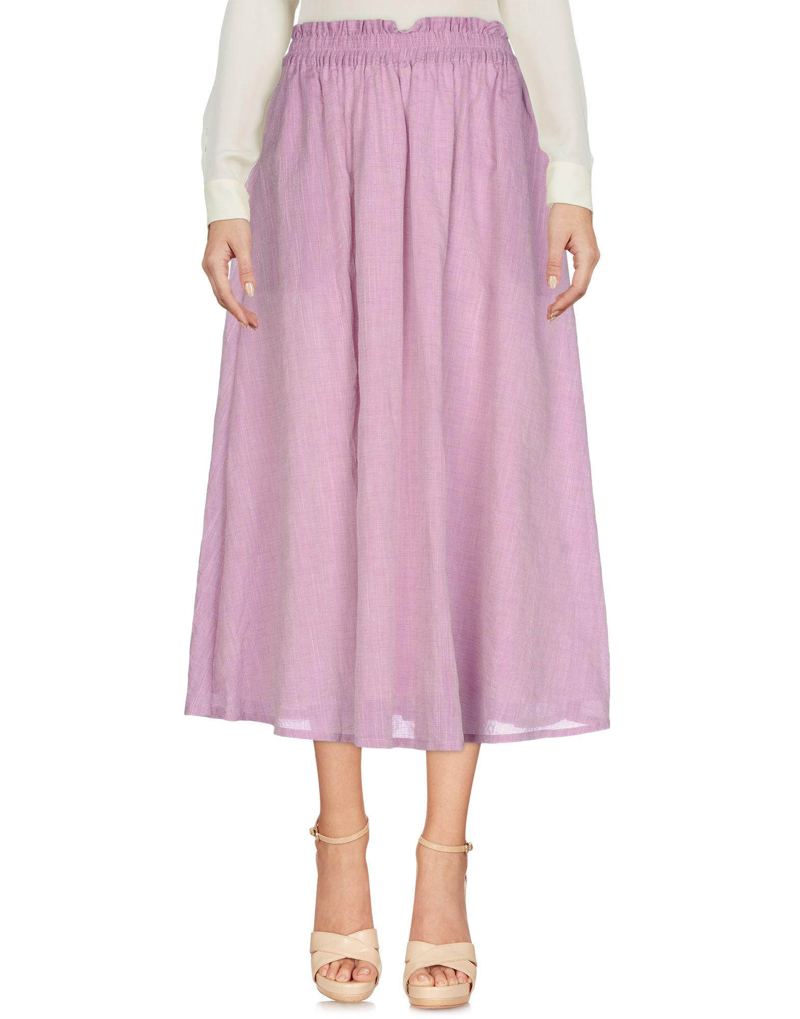 RENLI SU Midi Skirts in Light Purple