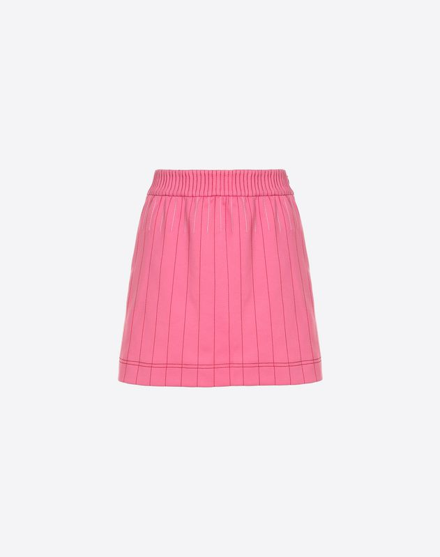 Techno jersey skirt