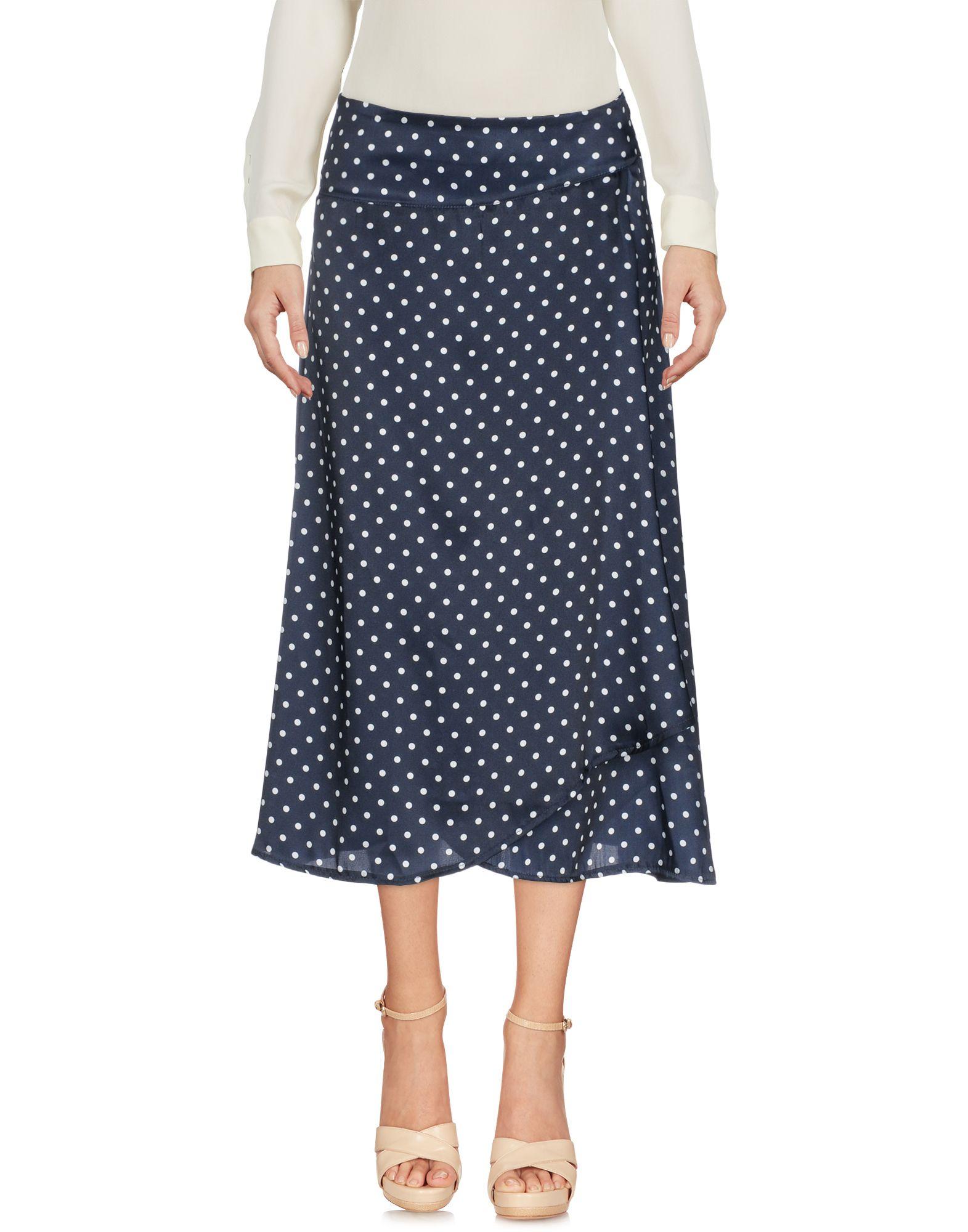 GIULIETTE BROWN Юбка длиной 3/4 moschino couture юбка длиной 3 4