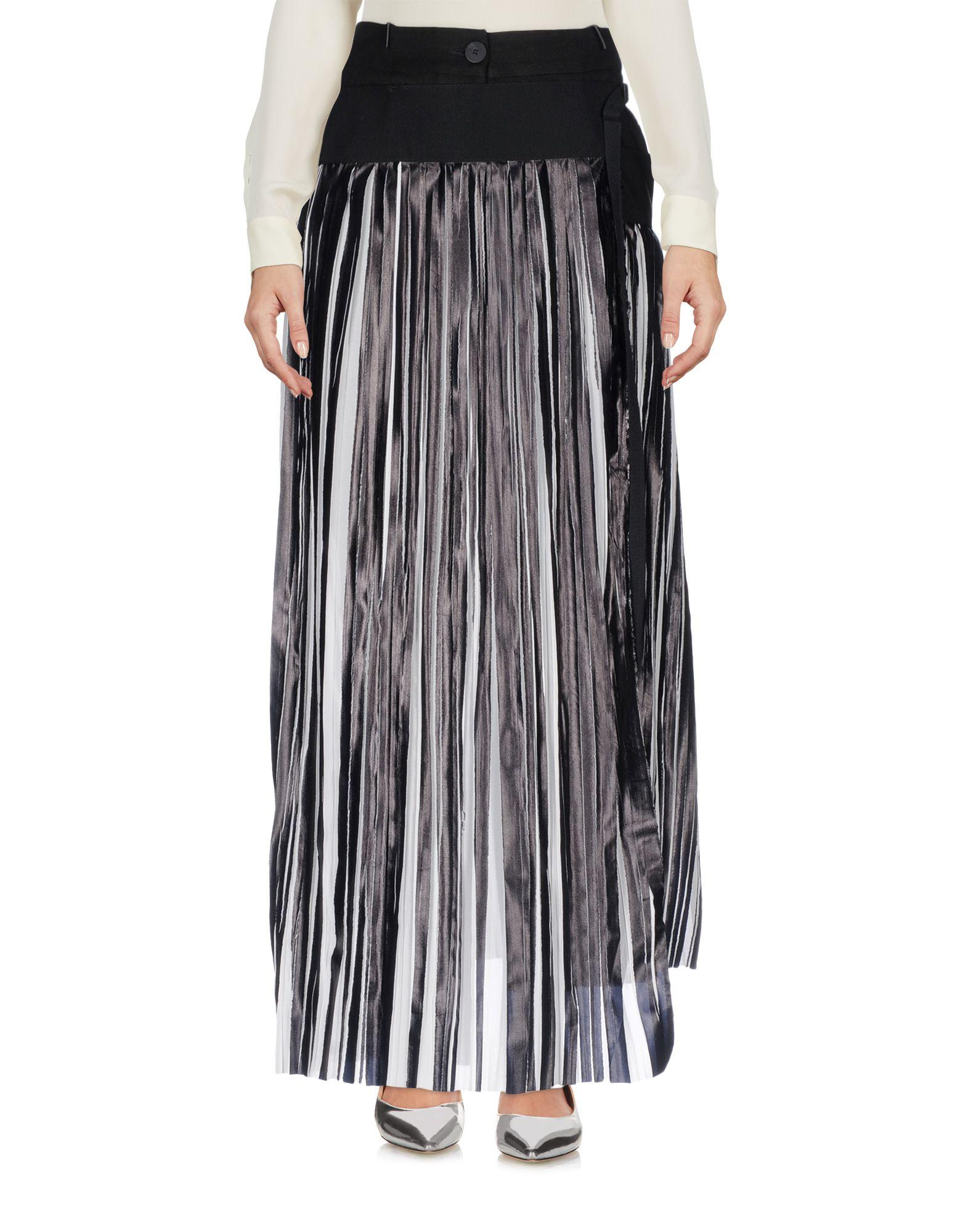 TOM REBL Длинная юбка scaglione city длинная юбка