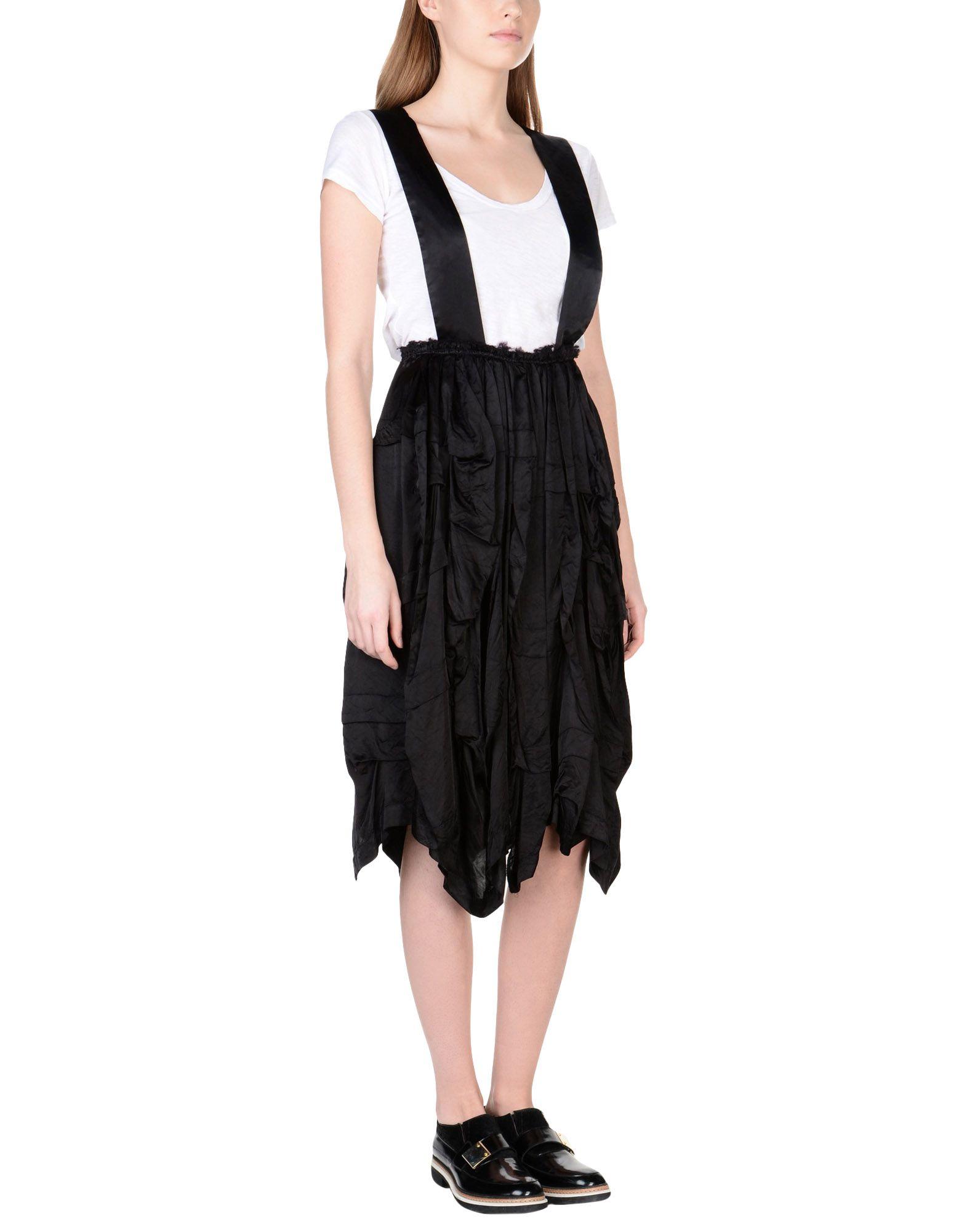 レディース COMME des GARONS ジャンパースカート ブラック