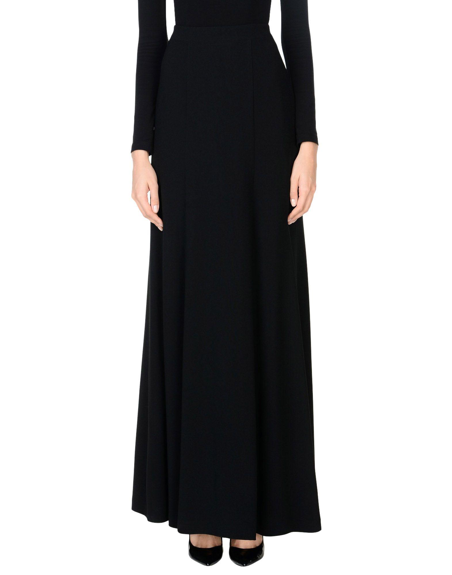 ANDREW GN Длинная юбка цены онлайн