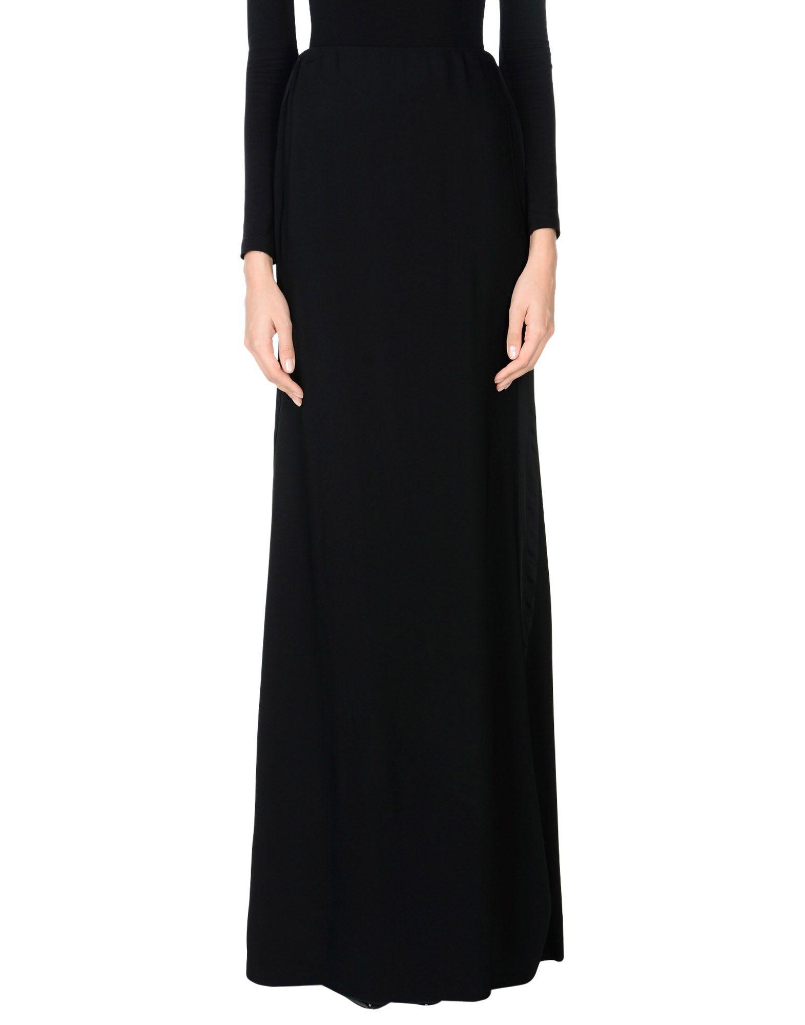Фото - VICTORIA BECKHAM Длинная юбка victoria beckham юбка длиной 3 4
