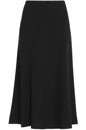 THEORY Crepe midi skirt