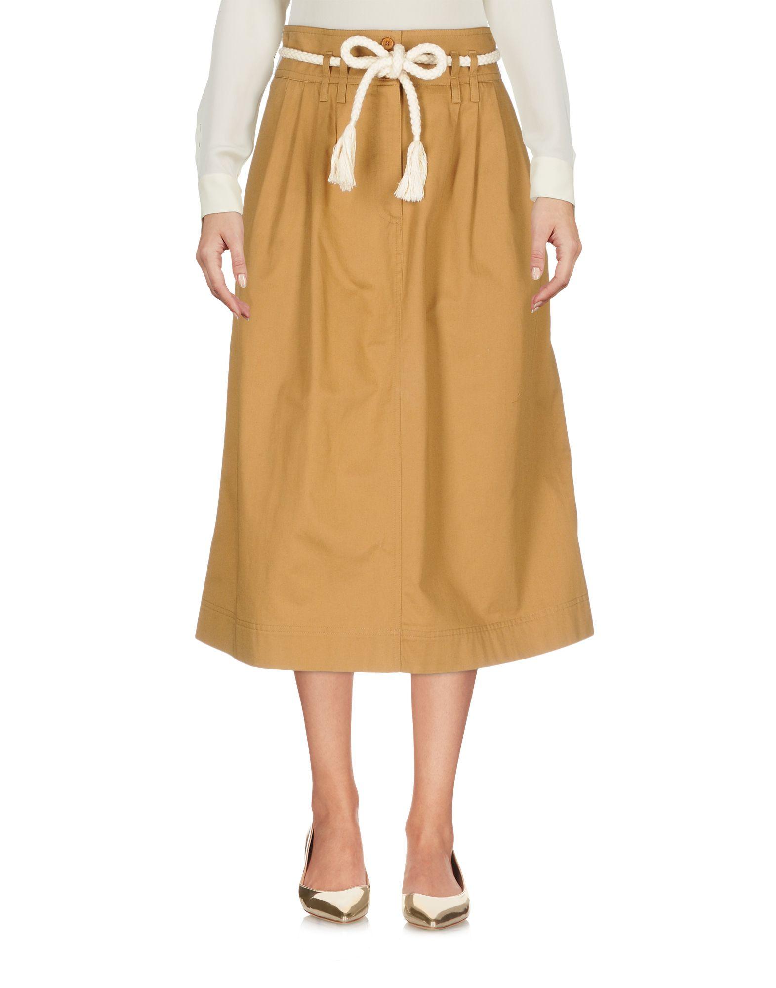 SESSUN Юбка длиной 3/4 sessun юбка длиной 3 4