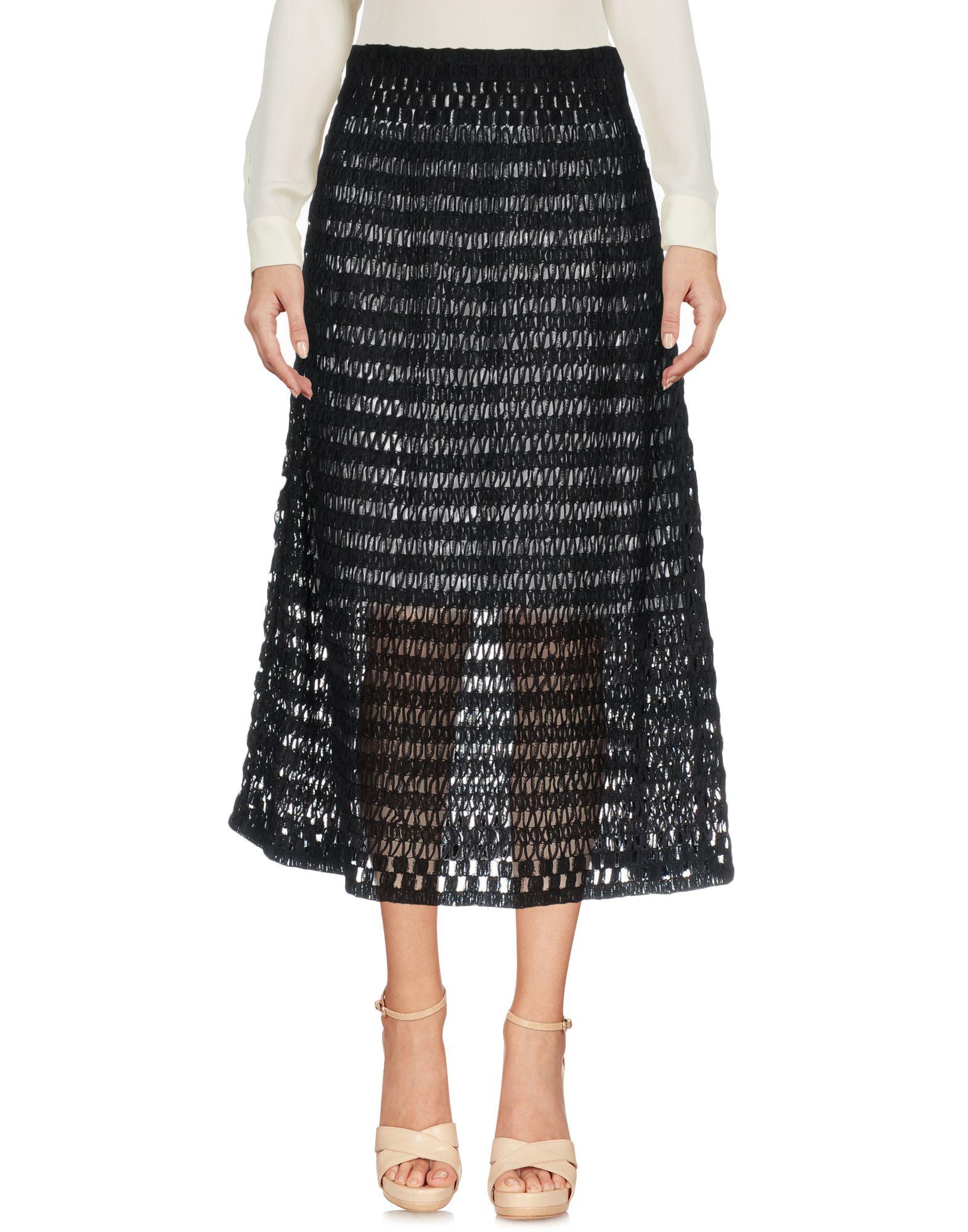Фото - MYF Юбка длиной 3/4 myf короткое платье