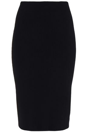 THEORY Stretch-knit skirt