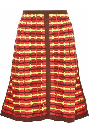 M MISSONI Fluted knitted skirt