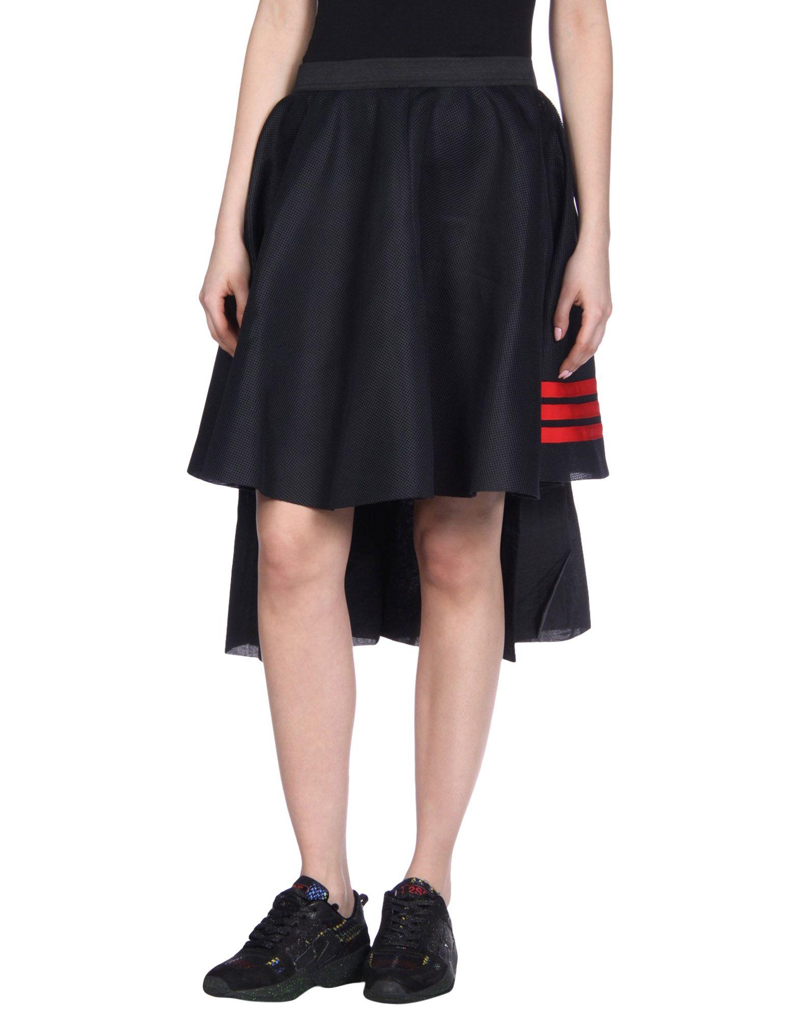 Y-3 Юбка длиной 3/4 moschino couture юбка длиной 3 4