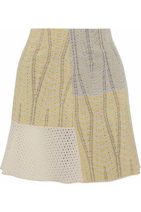 M MISSONI Crochet-knit mini skirt