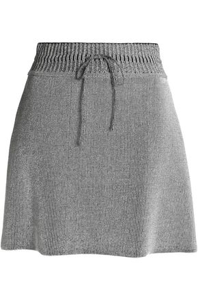 M MISSONI Metallic wool-blend mini skirt