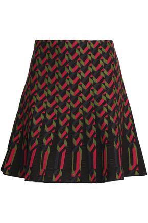 M MISSONI Flared pointelle-knit mini skirt
