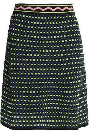 M MISSONI A-line jacquard-knit skirt