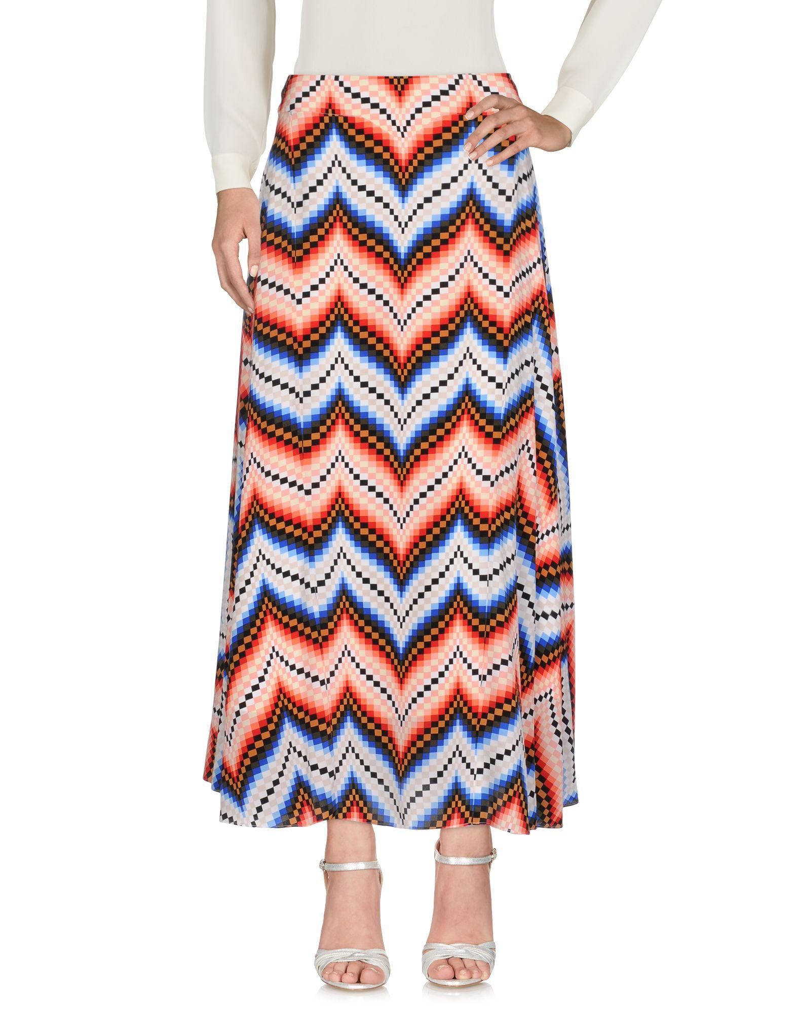 KENZO Длинная юбка kenzo юбка с асимметричными сборками