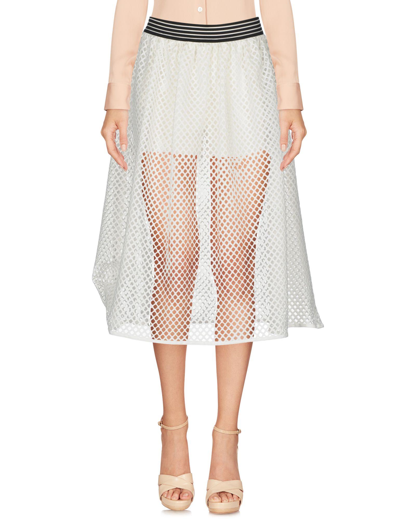 SHIKI Юбка длиной 3/4 moschino couture юбка длиной 3 4