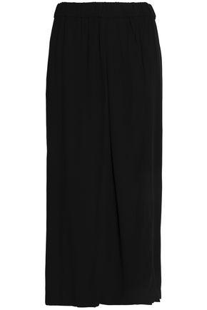 DKNY PURE Crepe midi skirt