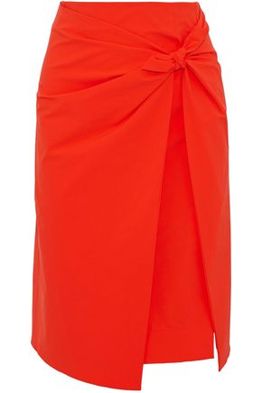 EMILIO PUCCI Knotted layered cady skirt