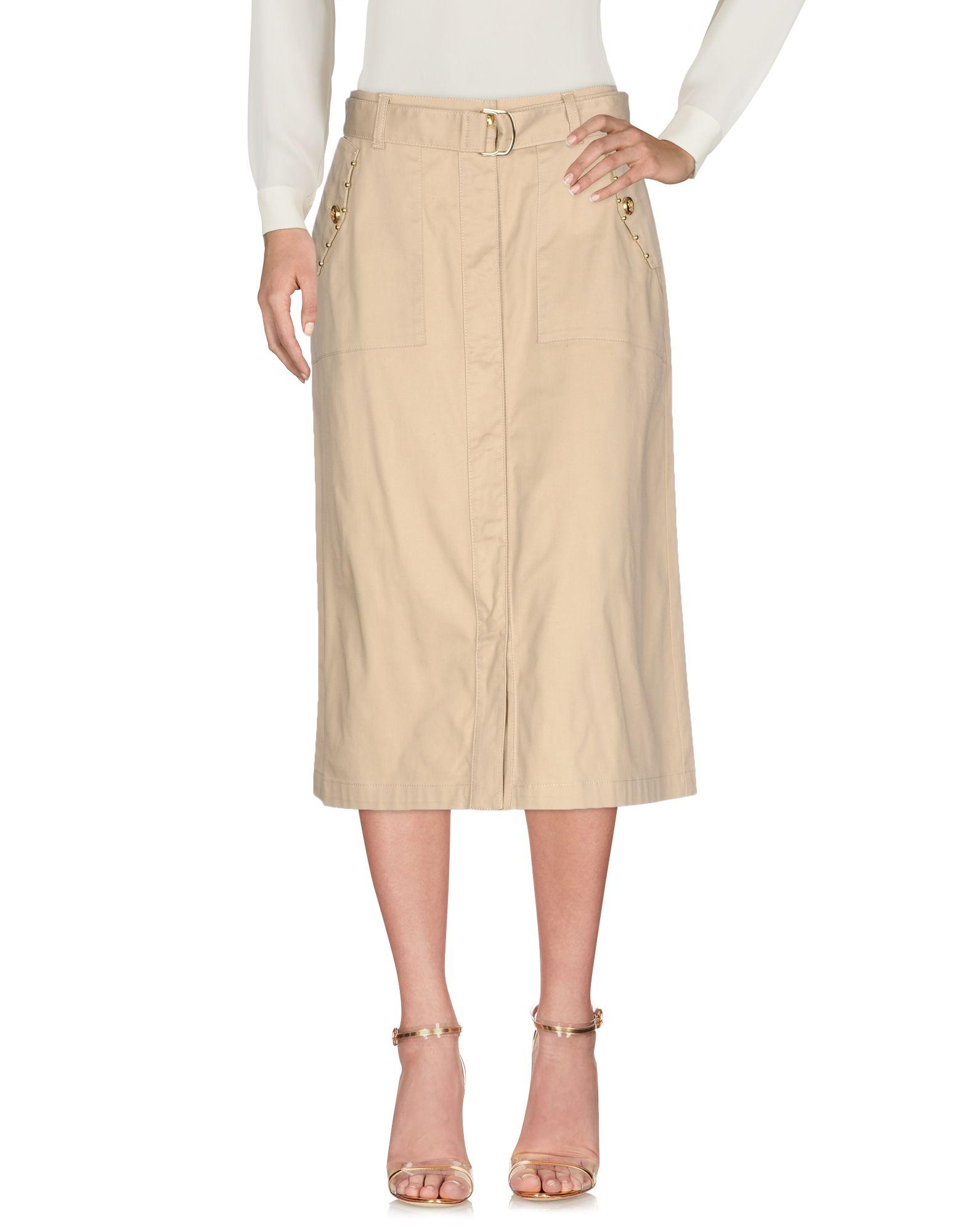 MARANI JEANS Юбка длиной 3/4 trussardi jeans юбка длиной 3 4