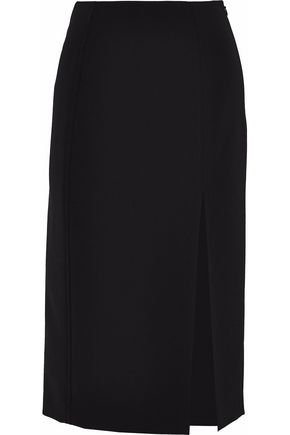 T by ALEXANDER WANG Stretch-crepe skirt