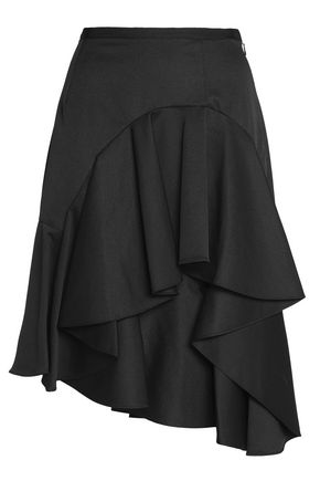 SACHIN & BABI Asymmetric ruffled skirt