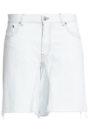 MM6 MAISON MARGIELA Distressed denim shorts