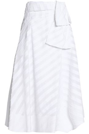 EMILIO PUCCI Stretch-cotton midi skirt
