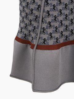 Horse knit skirt