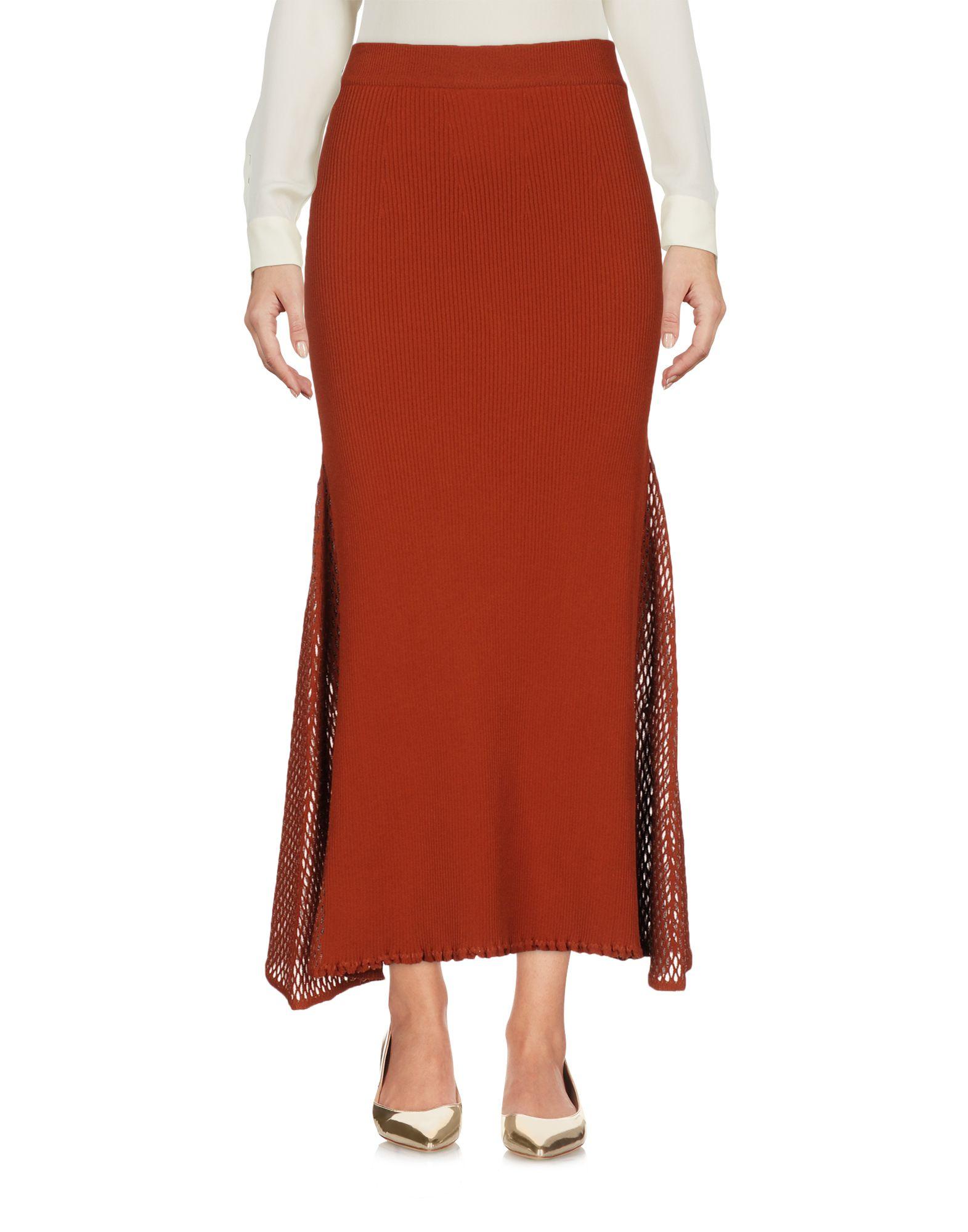 DEREK LAM Юбка длиной 3/4 moschino couture юбка длиной 3 4