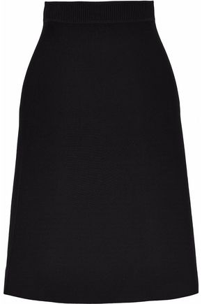 T by ALEXANDER WANG Stretch-knit skirt