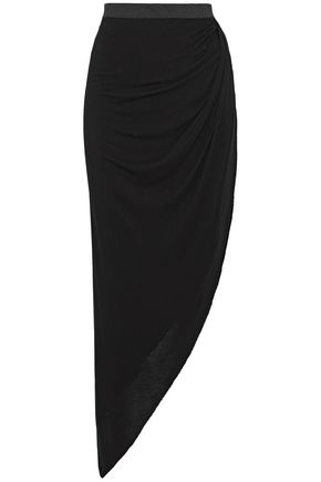 ENZA COSTA Asymmetric jersey skirt
