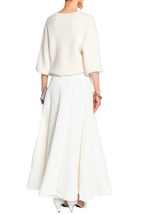 CO Silk and linen-blend maxi skirt