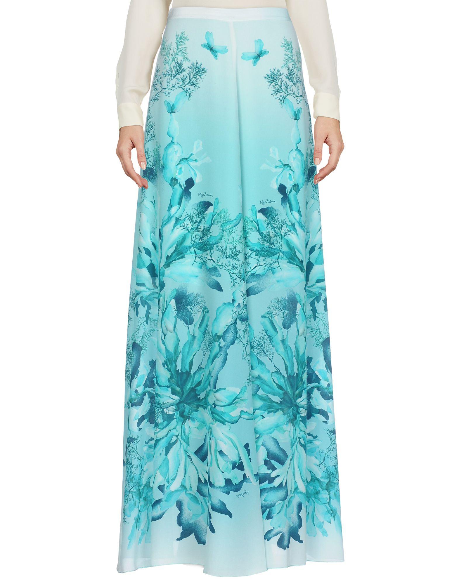 цена MARIA GRAZIA SEVERI Длинная юбка онлайн в 2017 году