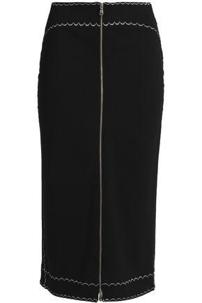 McQ Alexander McQueen Jersey midi skirt