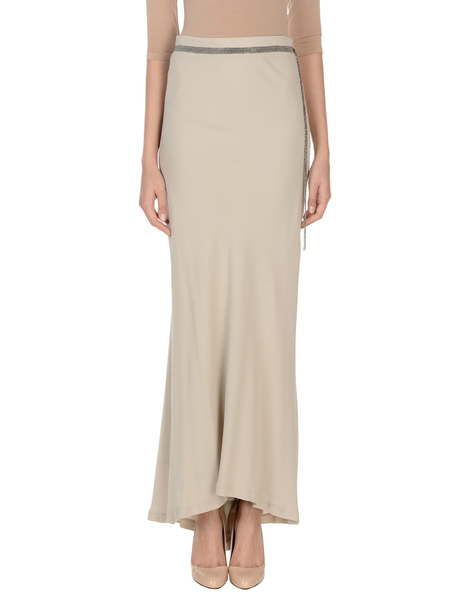 BRUNELLO CUCINELLI Длинная юбка юбка длинная из крепона